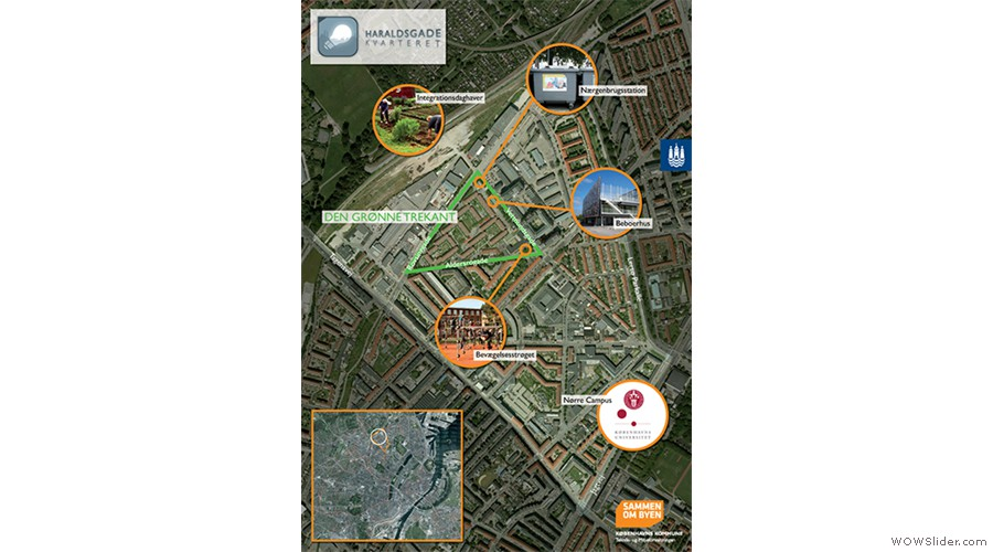 Plakat, Den grønne trekant web